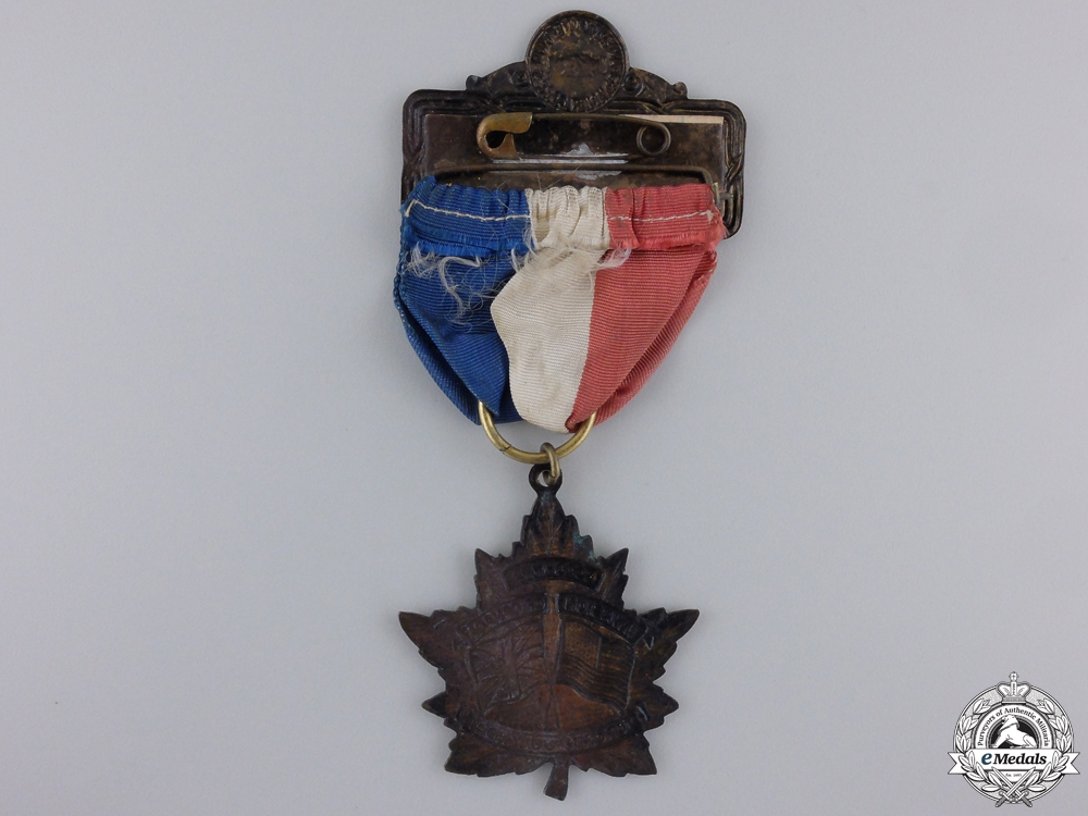 An American Legion and Canadian Corps Convention Medal 1941