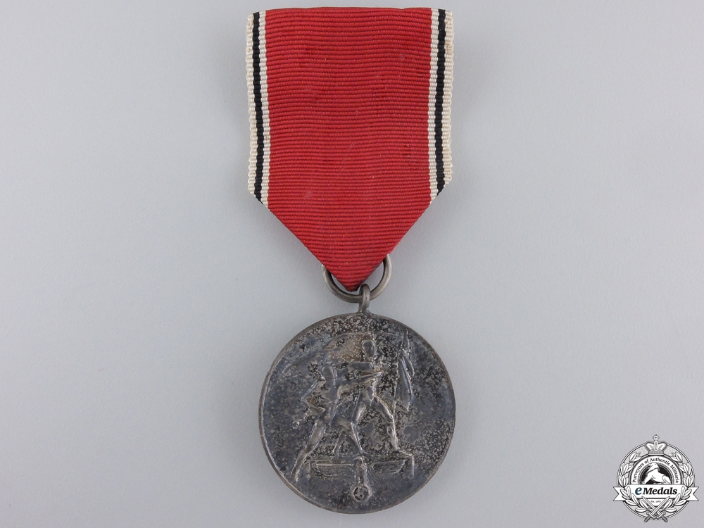 A Commemorative Medal for 13 March 1938 with Case