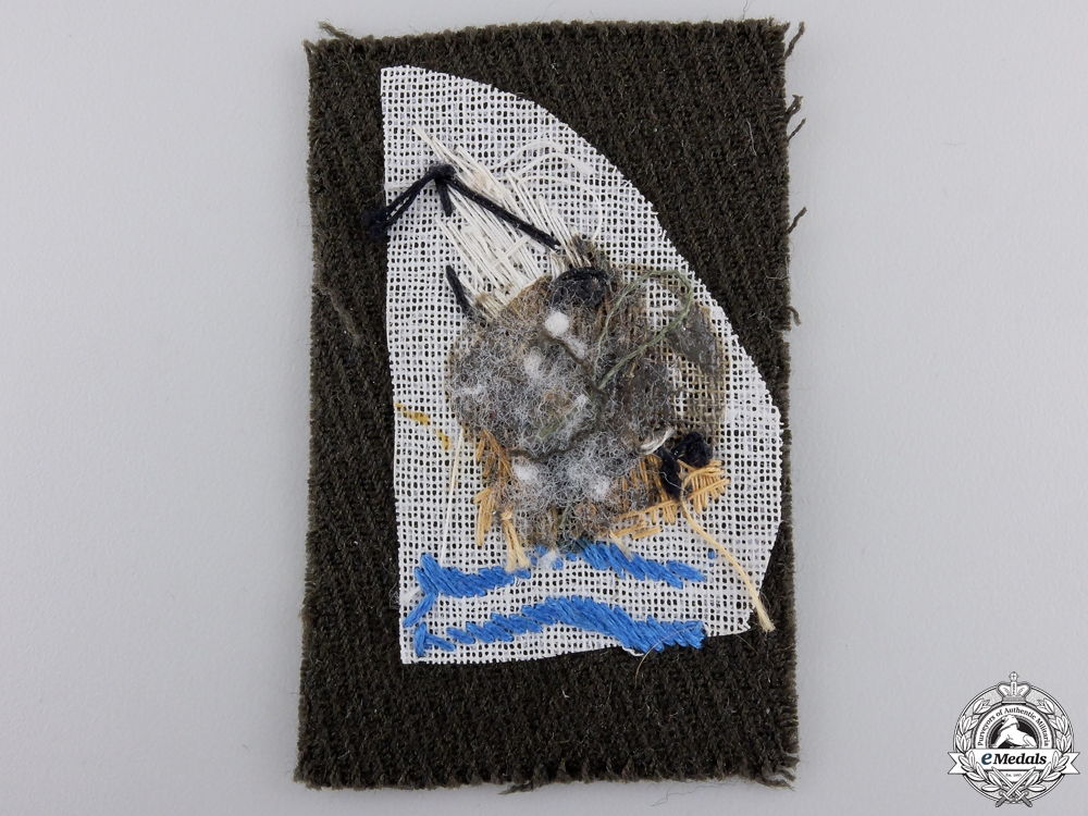 A Rare Second War Army Goldfish Patch