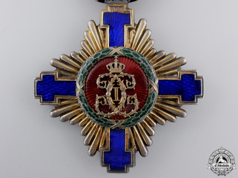 An Order of the Romanian Star; Commanders Cross