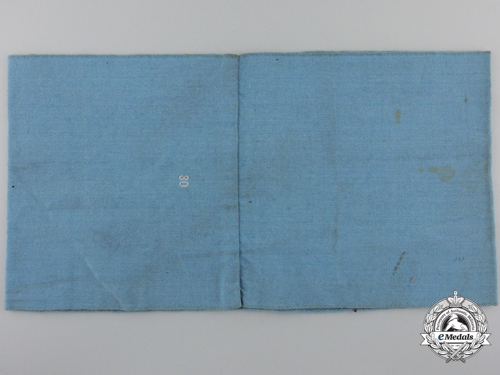 An RLB/Reich's Air Protection Service Armband; 2nd Type