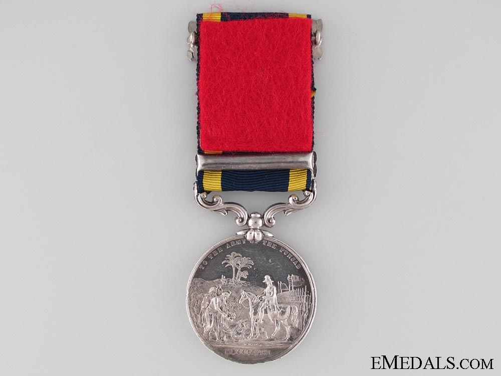 Punjab Medal 1848-49; KIA at Chillianwala