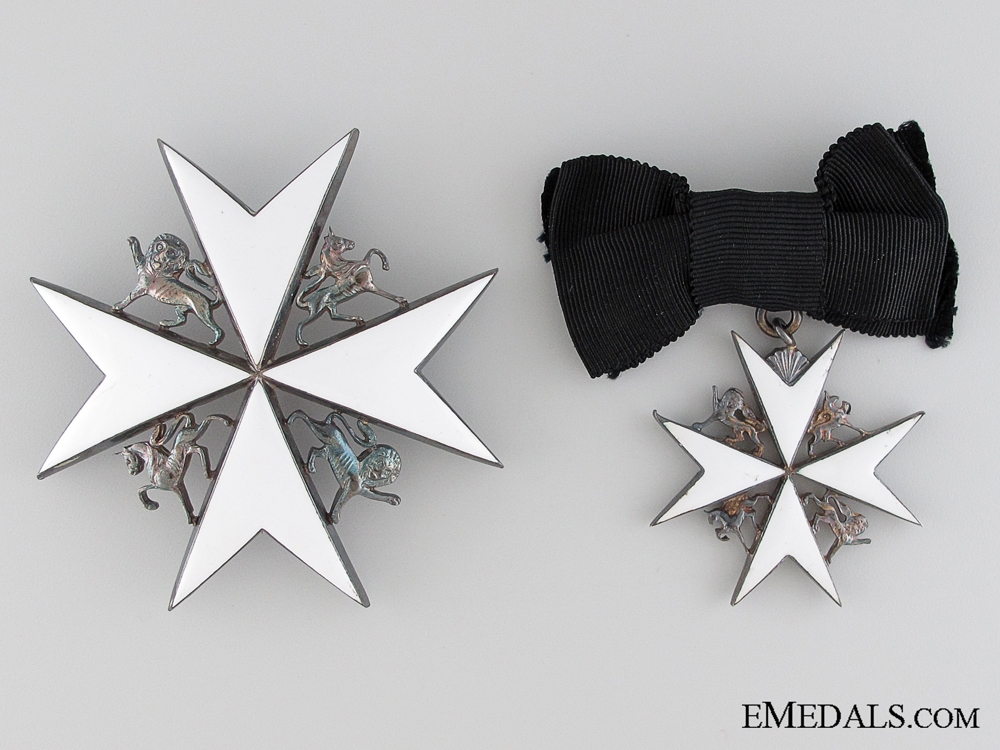 Order of St. John Dame of Grace Star and Badge