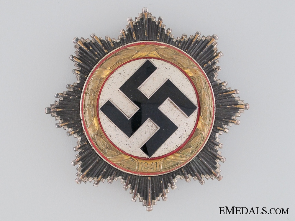 A German Cross in Gold by Otto Klein