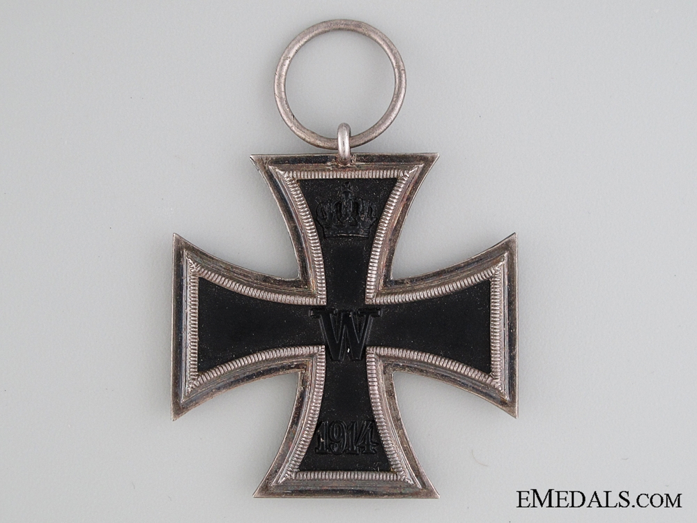 Iron Cross 2nd Class 1914 with Case