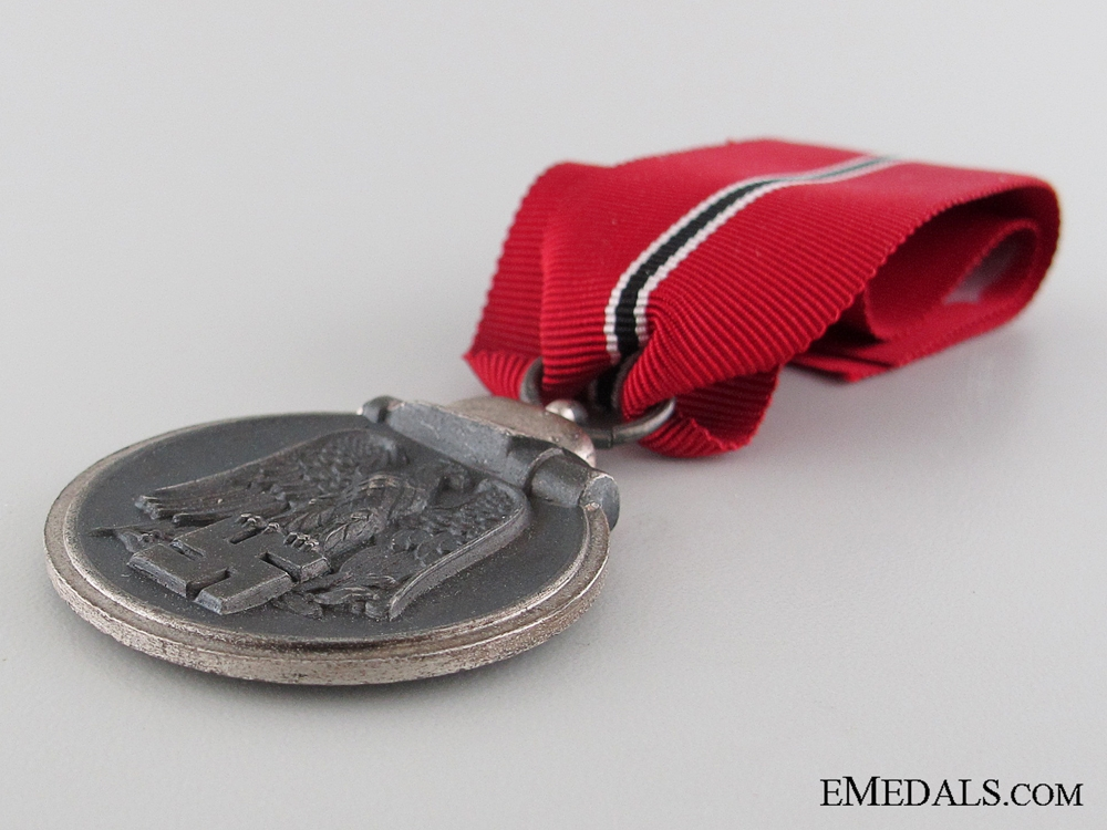 WWII German East Medal 1941/42; Marked