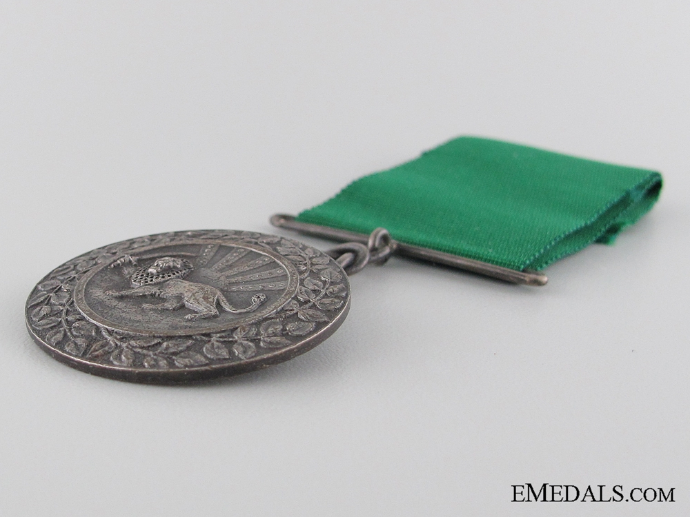 The Iran Order of Homayoun; Silver Grade Medal
