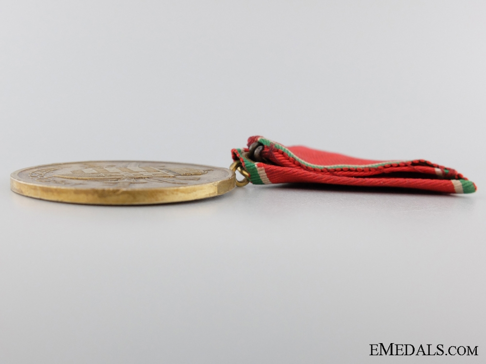 A Second War Hungarian Gold Bravery Medal