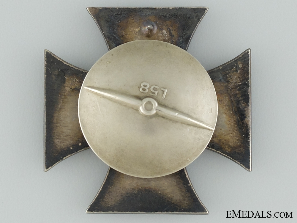 A 1939 First Class Iron Cross; Marked L/58; Cased