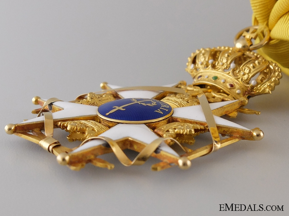 A Swedish Order of the Sword; Grand Cross