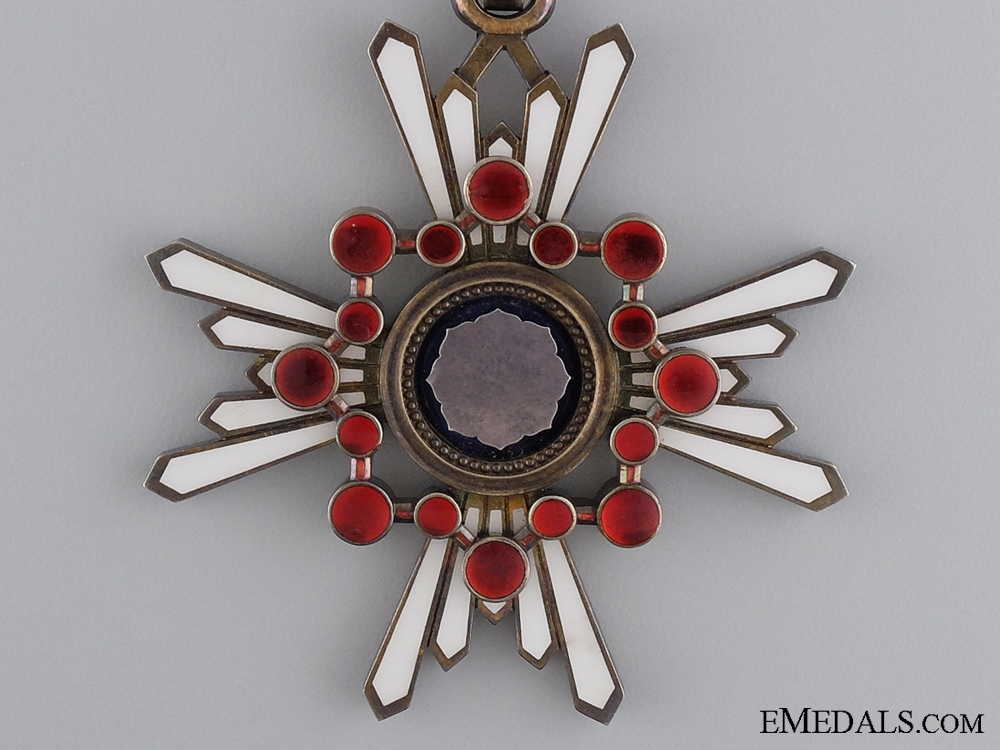 A Japanese Order of the Sacred Treasure; Third Class