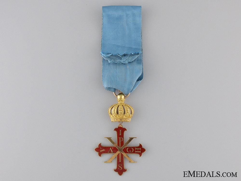 An Italian Order of Constantine of St.George; Duchy of Parma