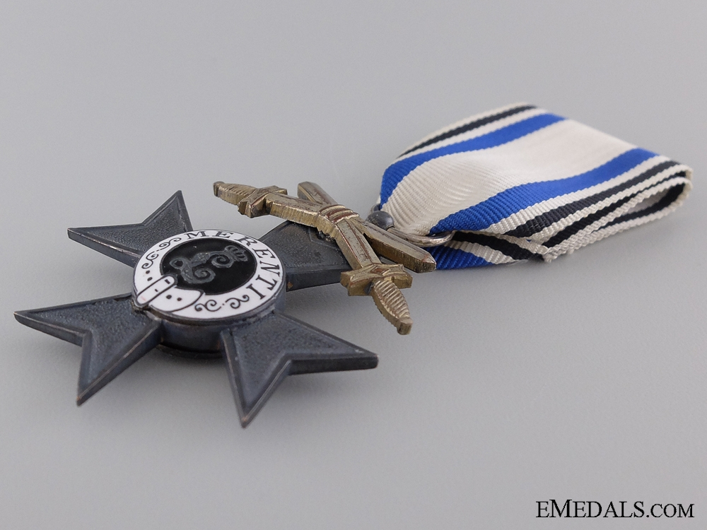 A Bavarian 2nd Class MVK with Swords