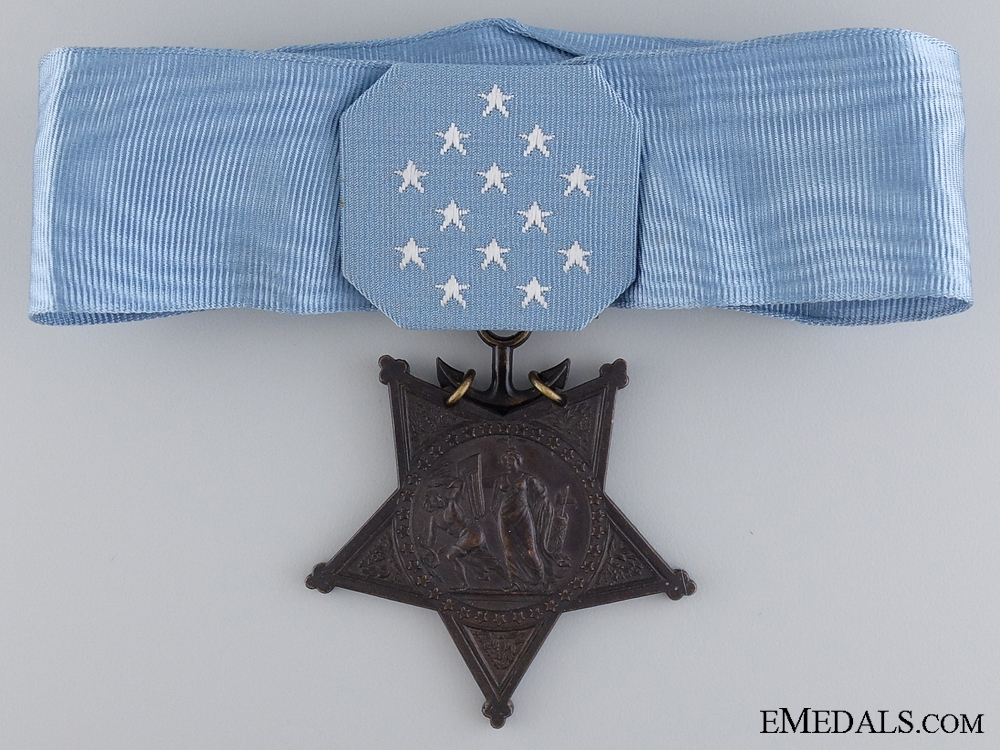 An American Navy Issue Medal of Honor; 1964 - Present