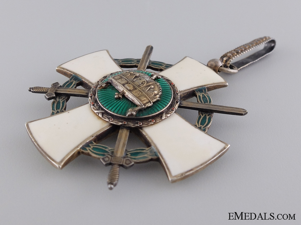 A 1942 Hungarian order of the Holy Crown; Grand Cross with Swords