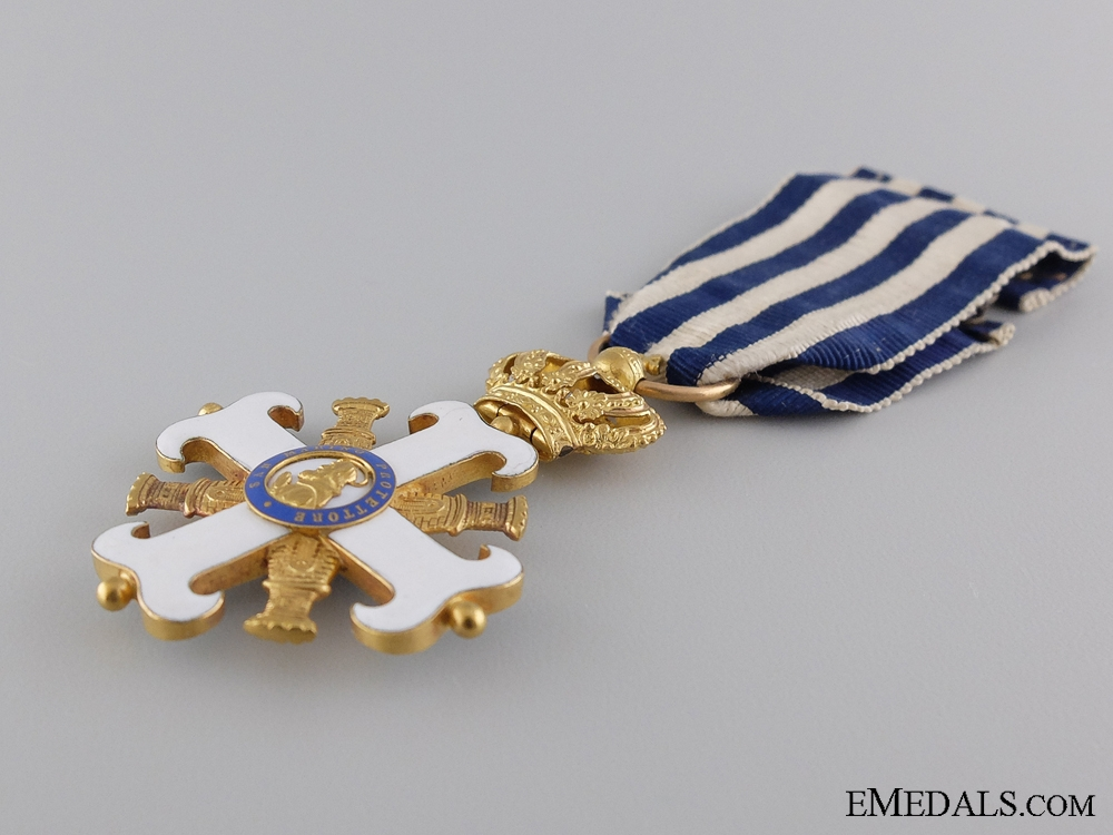 A Gold Order of San Marino; Officer's Cross