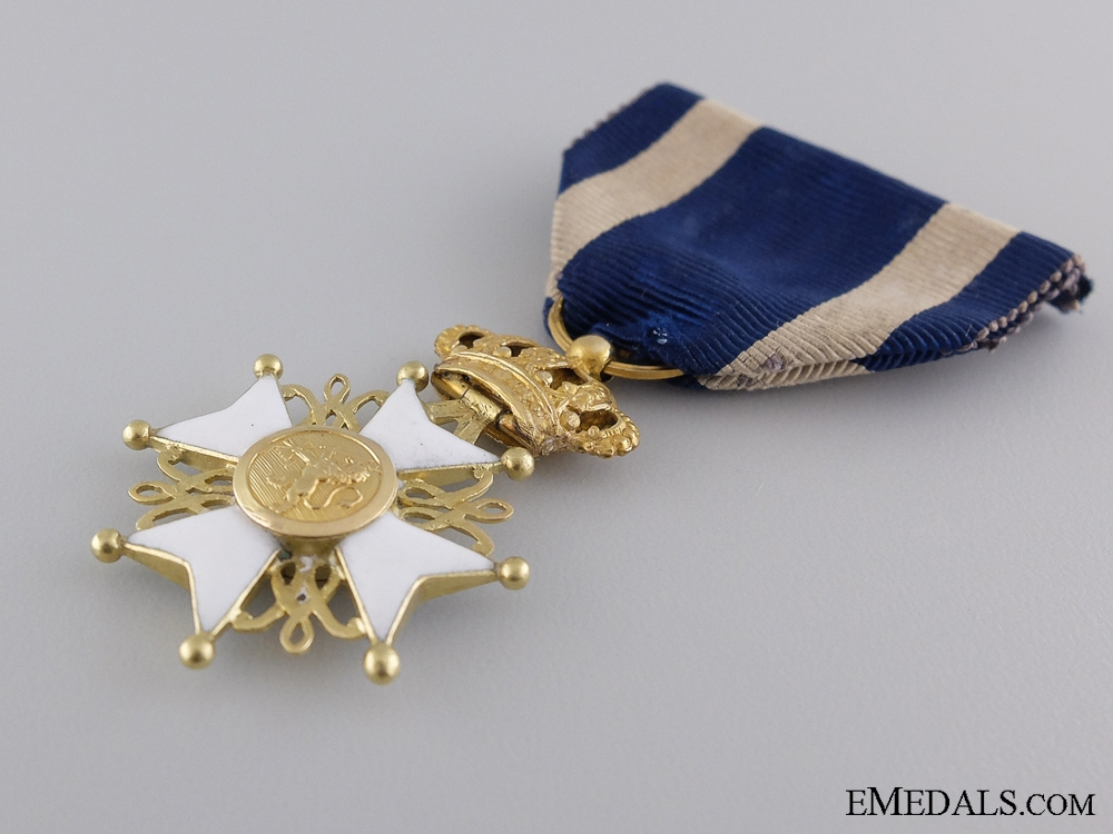 The Order of Netherlands's Lion in Gold; circa 1830