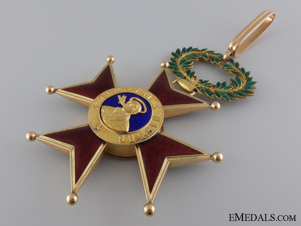 An Order of St. Gregory in Gold; Commander