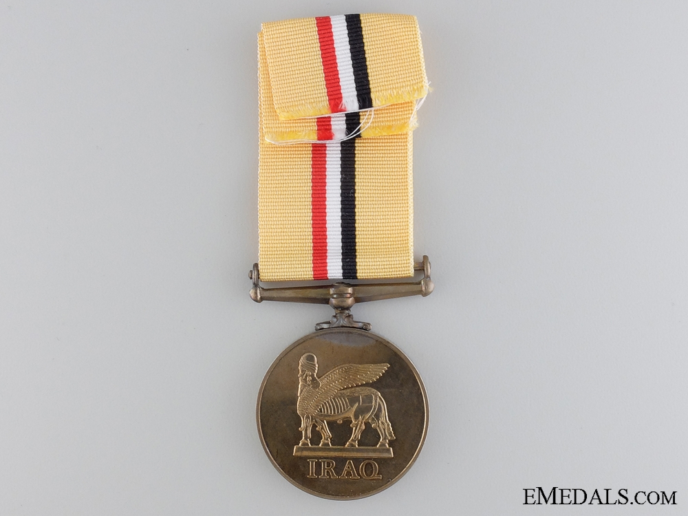 An Iraq Service Medal to the Lancashire Regiment