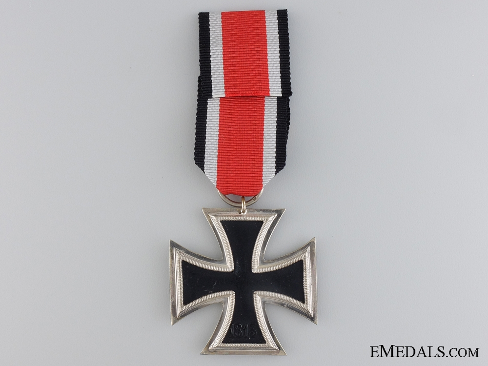 An Iron Cross Second Class with Honor Roll; 1957 Version