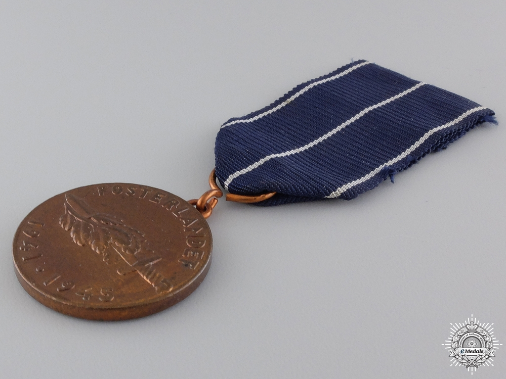 A Finnish Commemorative Medal of the Continuation War 1941-1945