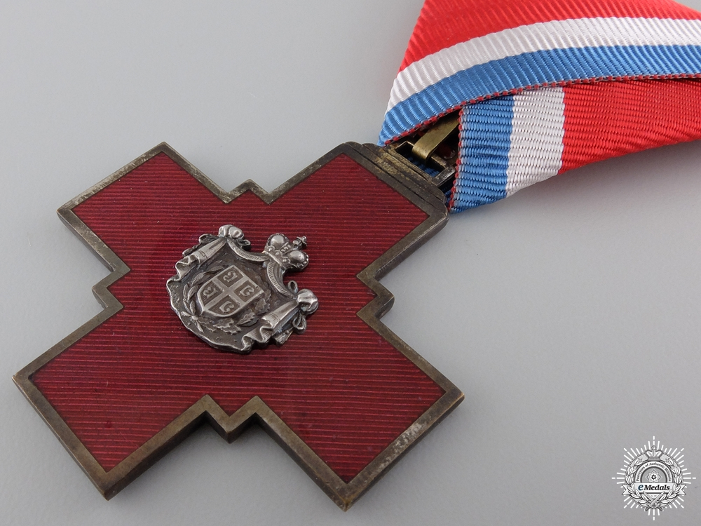 A Decoration of the Serbian Red Cross 1876; Type I