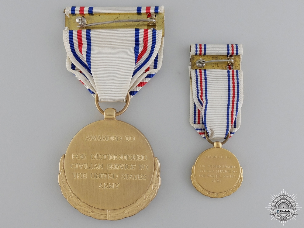 An American Army Distinguished Civilian Service Medal
