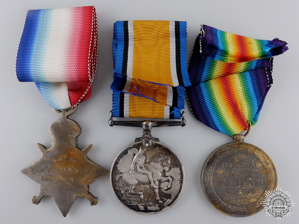 A Second War Royal Canadian Naval Reserve D.S.M. to Robert White