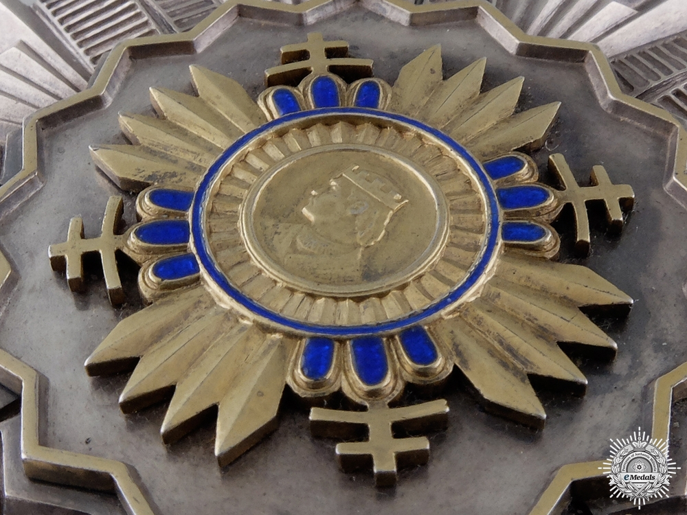 An Extremely Rare Slovakian Order of Prince Pribina; Grand Cross
