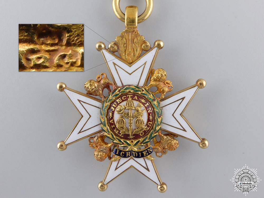 An 1892 Order of the Bath; Companion in Gold  consignment 14
