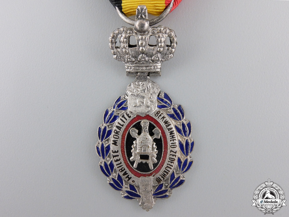 A Belgian Decoration for Workers and Artisans; 2nd Class