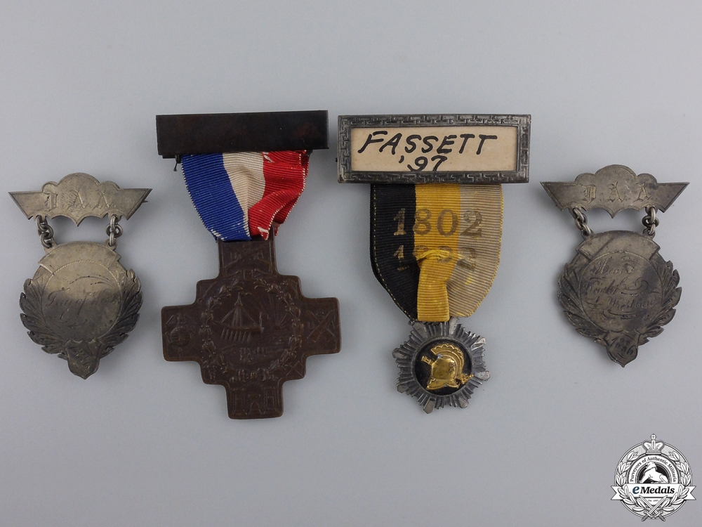 A DSM Group to Brigadier General William Mason Fassett; 37th Infantry Division