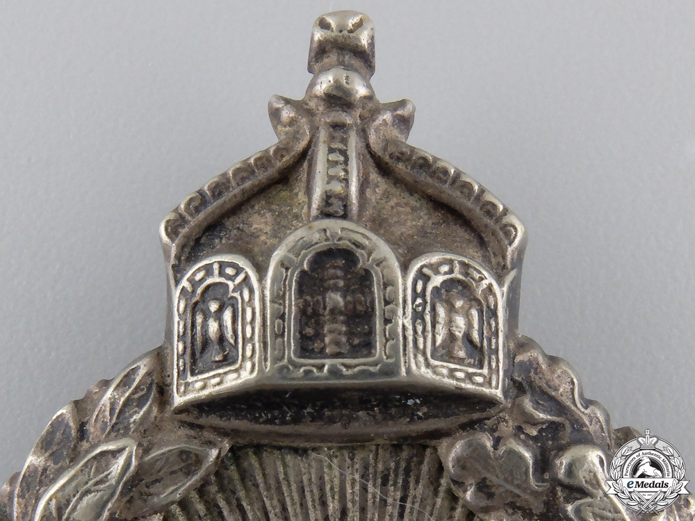 A First War Prussian Observer's Badge in Box of Issue c.1917