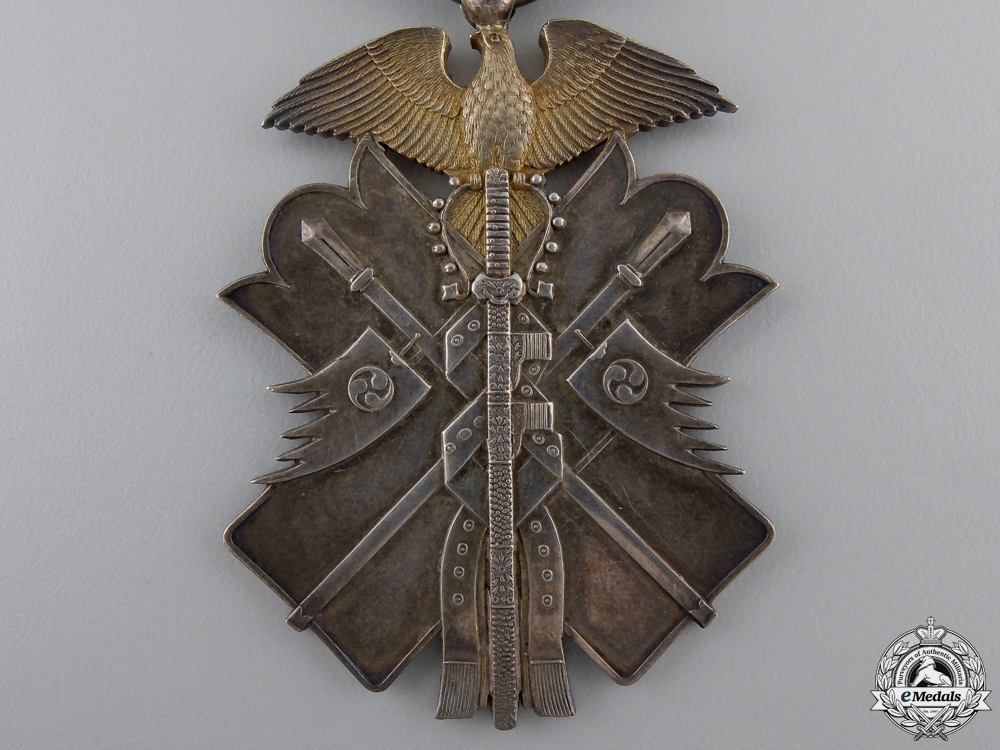 A Japanese Order of the Golden Kite; 7th Class with Case