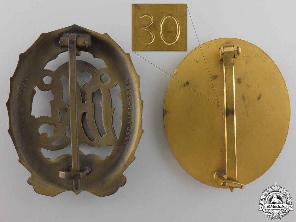 A German Cross in Gold Grouping to Kompanieführer 5./Gr.Rgt.1