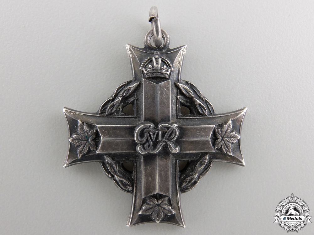 A Canadian Memorial Cross to Doctor Gabriel Lefebvre