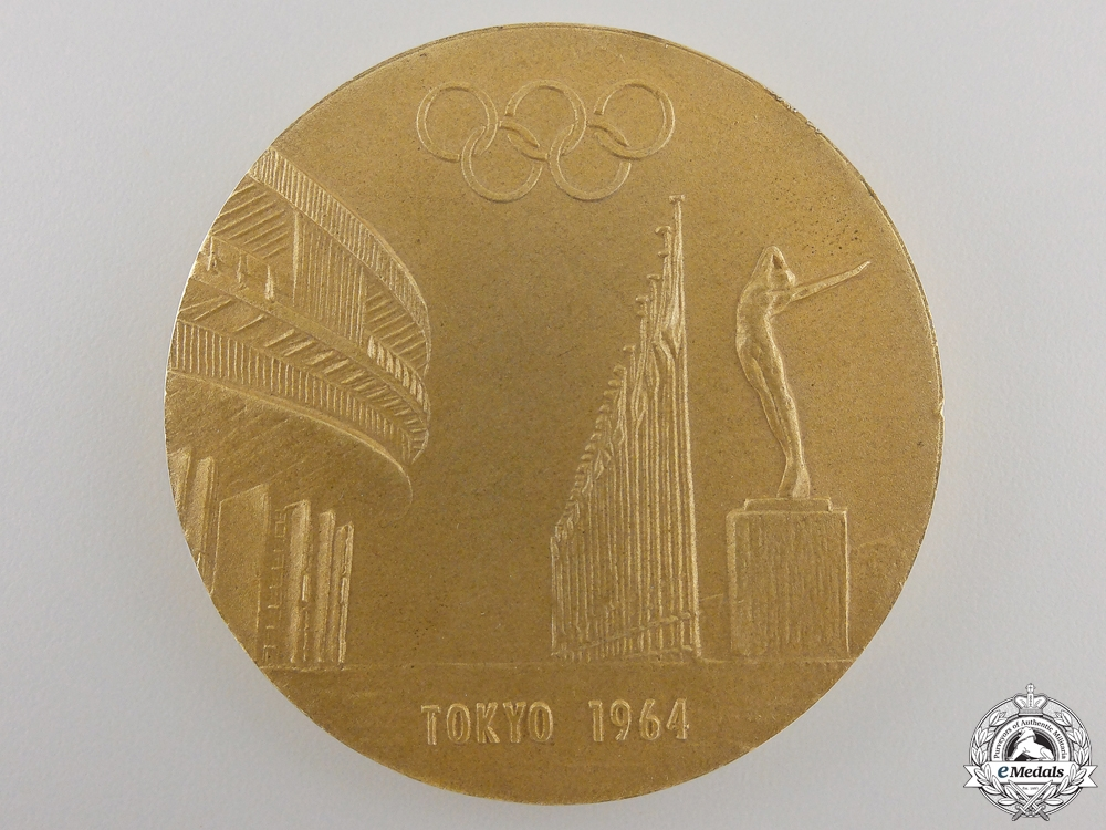 A 1964 Tokyo Olympic Commemorative Medal