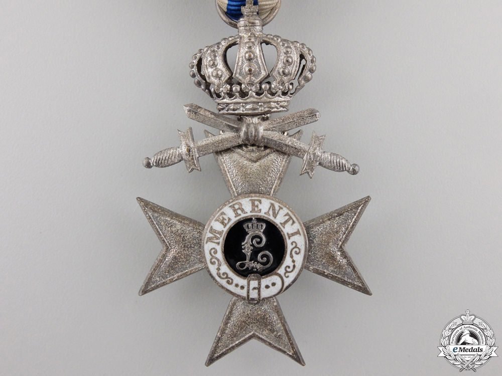 A Bavarian Military Merit Cross 2nd Class with Crown