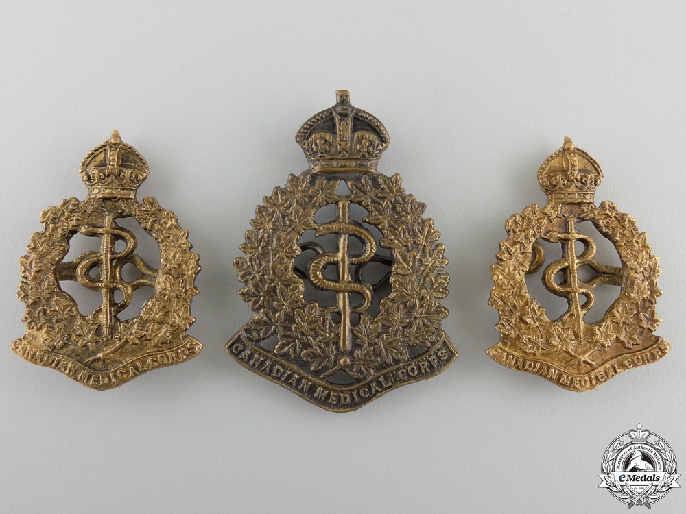 A First War M.S.M. Group to the Canadian Army Medical Corps