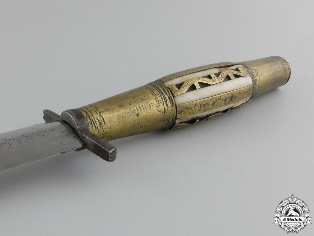 A 19th Century Spanish Fighting knife; Albacete Spain
