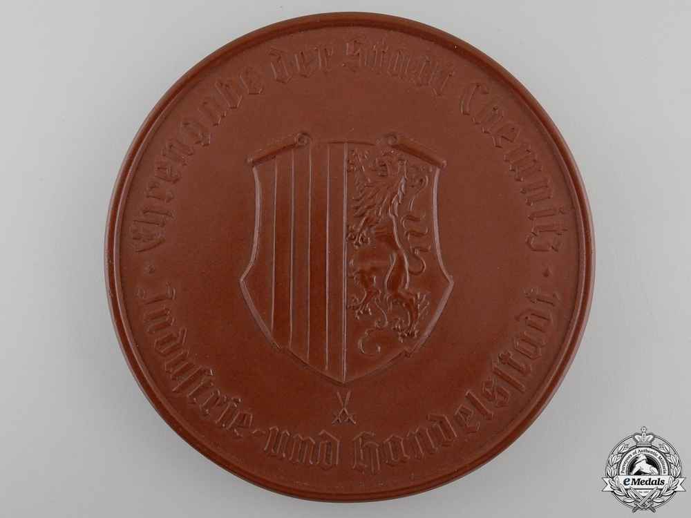 A City of Chemnitz Industry and Trade Honour Medal