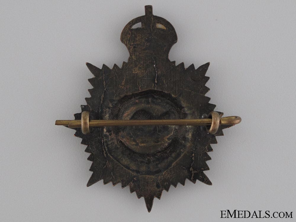 WWI Royal Canadian Service Corps Cap Badge CEF