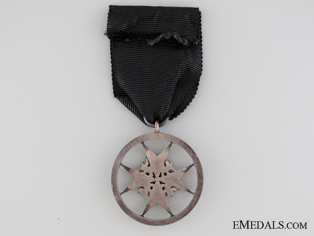 The Order of St. John; Serving Brother Breast Badge