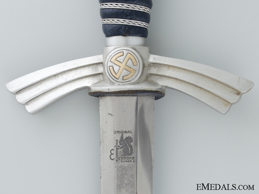 A Mint First Model Luftwaffe Dagger by Eickhorn; Prime Example   Consignment 16