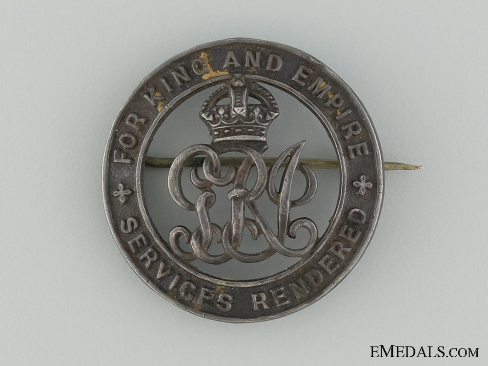 A First War Medal Pair & Badge to the Canadian Forestry Corps