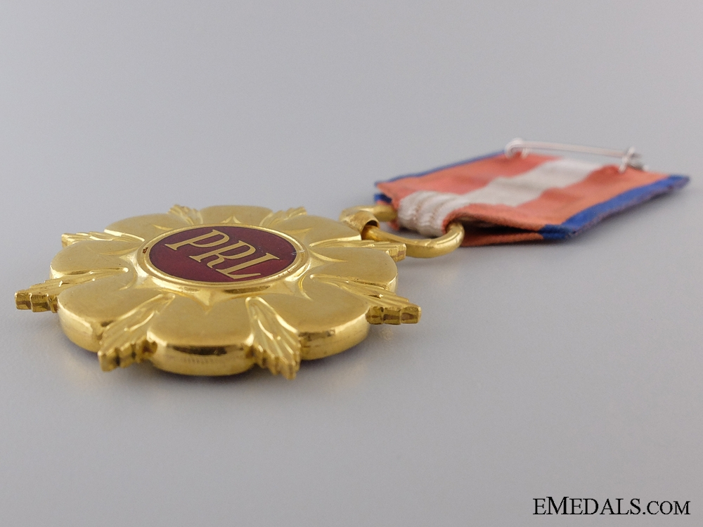 A Seldomly Awarded Order of the Construction of the Polish Republic
