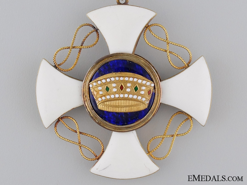 An Italian Order of the Crown; Grand Commander's Set of Insignia