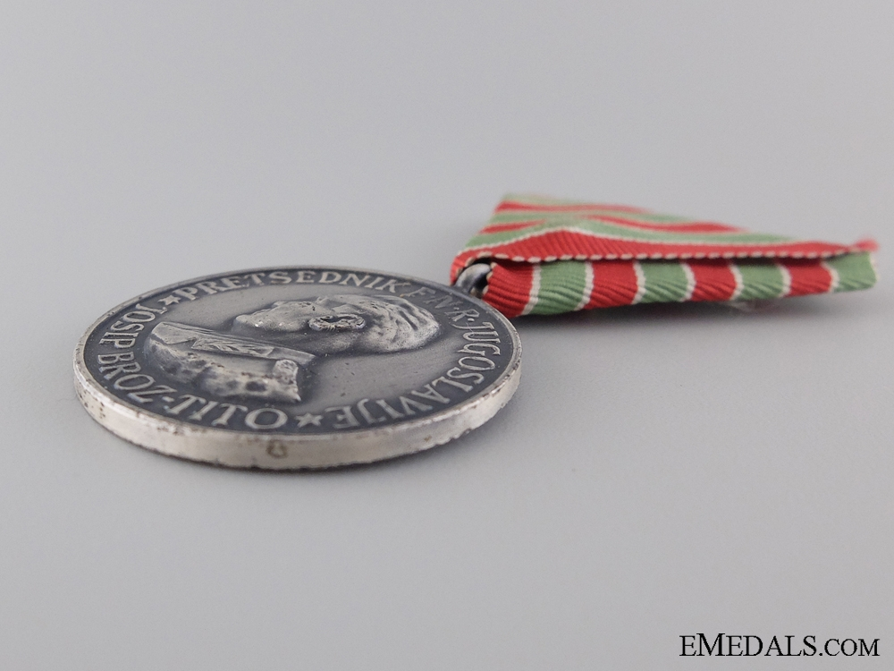 A Yugoslavian Medal for the Voyage to India and Burma 1954-1955