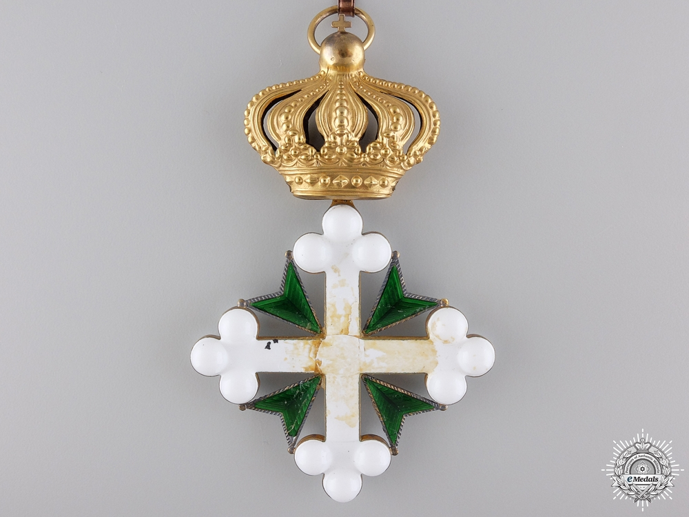 An Order of St. Maurice & Lazarus; Commander