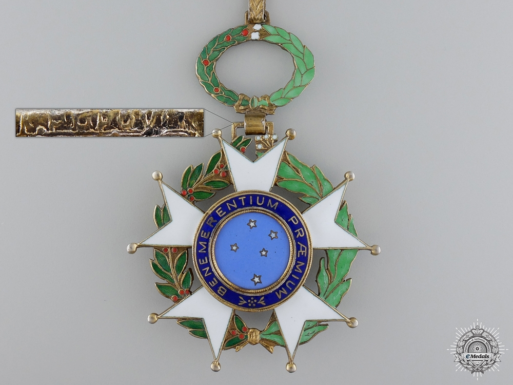 A Brazilian National Order of the Southern Cross; Grand Officers